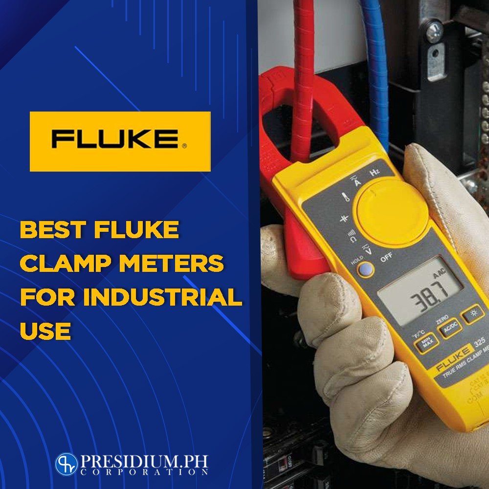 clamp meters for industrial use